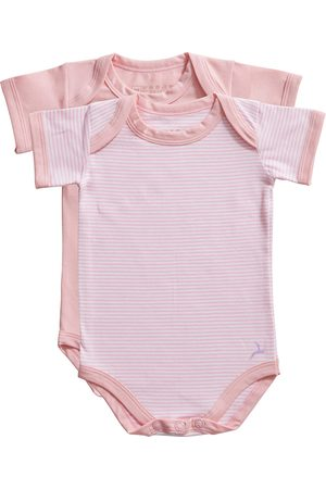 Ten Cate Romper Stripe and candy pink 2 pack maat 74/80