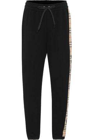 Burberry Vintage Check cotton trackpants