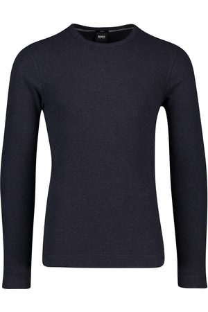 HUGO BOSS T-shirt lange mouw navy