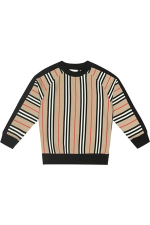 Burberry Lance striped cotton sweatshirt