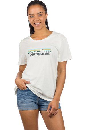 Patagonia Dames Korte mouw - Pastel P-6 Logo Organic Crew T-Shirt