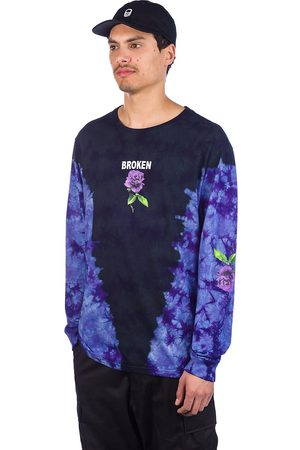 Broken Promises Thornless Tie Dye Long Sleeve T-Shirt
