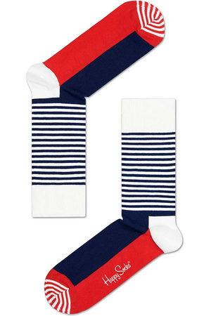 Happy Socks Heren Sokken & Kousen - Sokken Half Stripe Socks