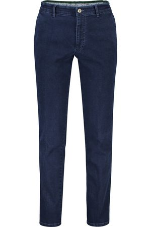 m.e.n.s. Chino Madison blauw denim