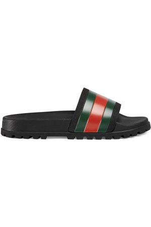 Gucci Heren Sandalen - Web slide sandal