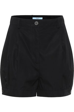 Prada Cotton-twill shorts