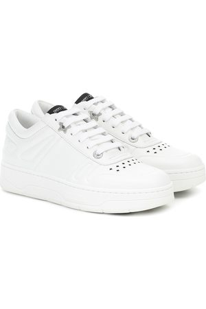 Jimmy choo Dames Sneakers - Hawaii F leather sneakers