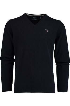 GANT Heren Pullovers - Pullover Lamswol Donkerblauw 86212/410