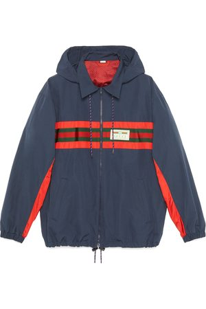 Gucci Heren Jacks - Nylon jacket with Web and label