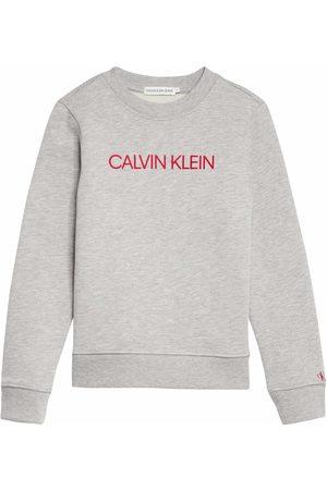 Calvin Klein Jongens Sweaters - Jongens Sweater - Maat 140 - - Katoen/polyester