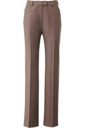 Brax Dames Slim & Skinny broeken - Flannelbroek NANCY Pro Form Slim Van Raphaela by