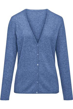 Peter Hahn Dames Vesten - Vest van 100% kasjmier, Topkwaliteit, model Cora Van Cashmere