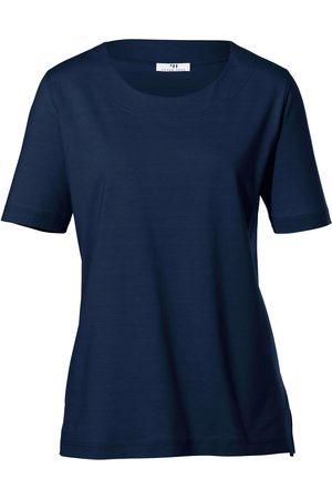 Peter Hahn Dames Shirts - Shirt met ronde hals Van