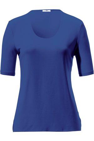 Peter Hahn Dames Shirts - Shirt met ronde hals en korte mouwen Van