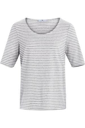 Peter Hahn Gestreept shirt met korte mouwen Van