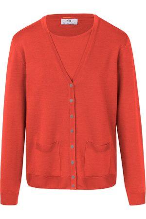 Peter Hahn Dames Outfit sets - Twinset van 100% scheerwol Van