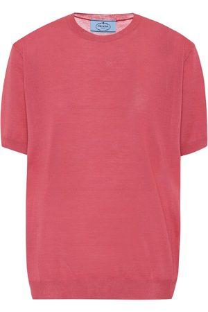 Prada Dames Shirts - Wool T-shirt