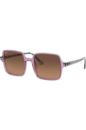 Ray-Ban® Dames Zonnebrillen - Ray-Ban Square II RB1973-128443-53