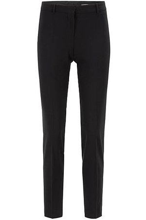 HUGO BOSS Dames Pantalons - Slim-fit cropped broek