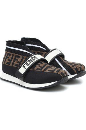 Fendi FF jacquard sneakers