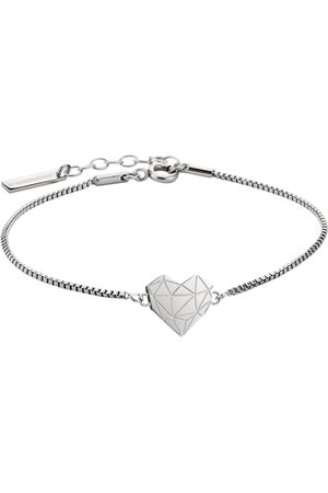 liebeskind Edelstalen armband »LJ-0328-B-17, hart«