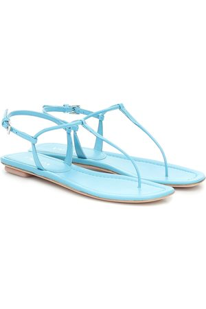 Prada Patent-leather sandals