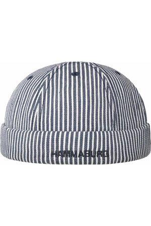 Hammaburg Heren Mutsen - Stripes Cotton Dockermuts by
