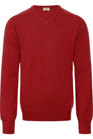William Lockie Heren Lambswool V-neck