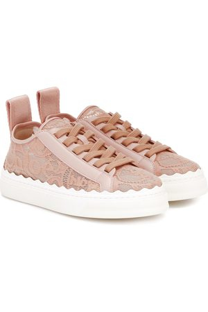 Chloé Dames Sneakers - Exclusive to Mytheresa – Lauren lace sneakers