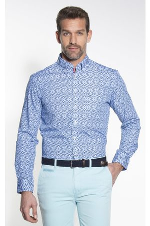 Campbell Classic Casual Heren Overhemd LM
