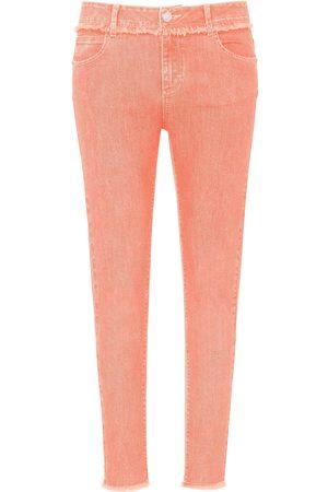 DAY.LIKE Dames Slim - Enkellange Slim Fit-jeans Van