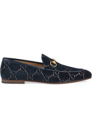 Gucci Men's Jordaan GG velvet loafer