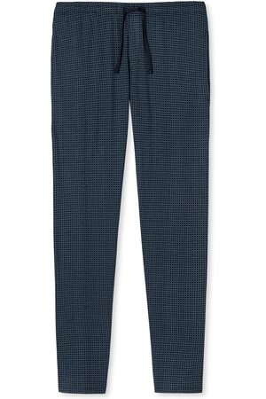 Schiesser Mix & Relax pyjamabroek lang navy