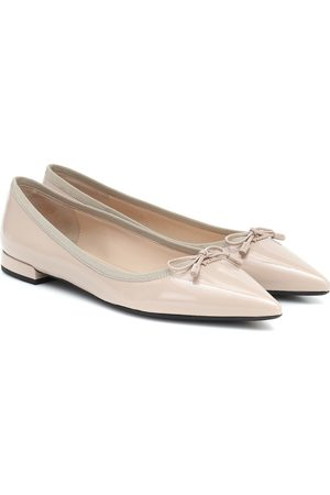 Prada Patent leather balllet flats