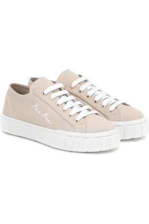 Miu Miu Canvas sneakers