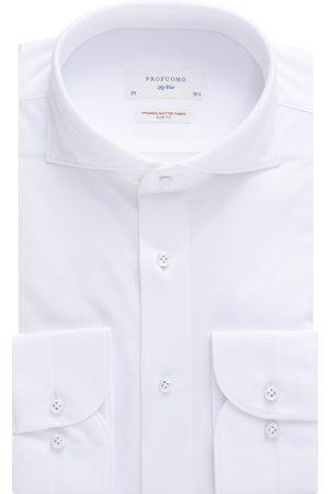 Profuomo Heren Overhemden - Overhemd Heren Japanese Knitted Katoen