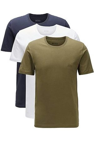 HUGO BOSS Heren Outfit sets - Set van drie paar regular-fit T-shirts van katoen