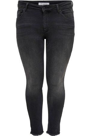 Carmakoma Dames Skinny - Carwilly Reg Ank Skinny Jeans Black: