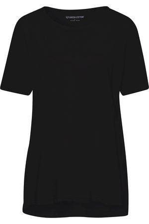 Green Cotton Shirt van 100% katoen met korte mouwen Van