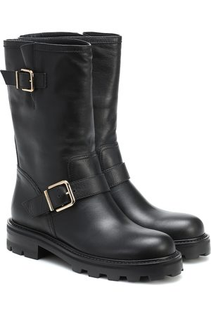 Jimmy choo Biker II leather ankle boots