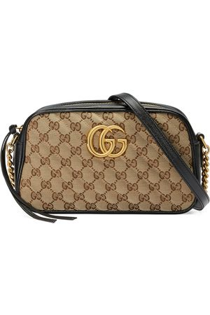 Gucci Dames Schoudertassen - GG Marmont small shoulder bag