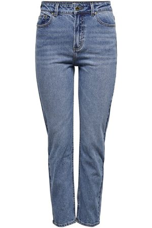 Only Onlemily Life Hw Ankle Straight Fit Jeans Dames