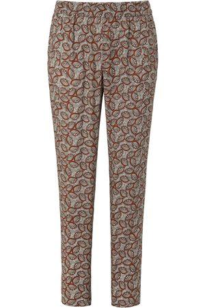 Peter Hahn Dames Broeken - Enkellange broek met minimal-dessin Van