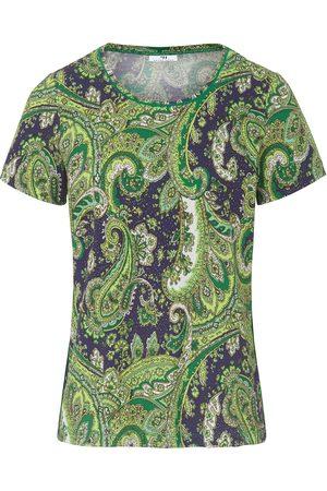Peter Hahn Dames Korte mouw - Shirt met ronde hals en korte mouwen Van