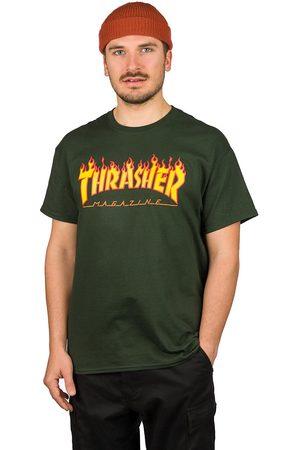 Thrasher Heren Korte mouw - Flame T-Shirt