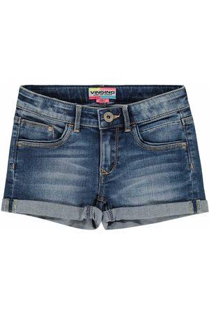 Vingino Meisjes Korte Broek - Maat 92 - - Jeans
