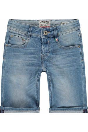 Vingino Jongens Bermud - Maat 92 - - Jeans