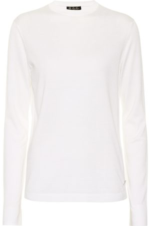 Loro Piana Silk and cotton crewneck sweater