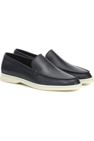 Loro Piana Summer Walk leather loafers