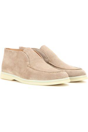 Loro Piana Open Walk suede boots